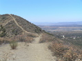 #2: View from the top of the ridge to the east of the confluence, looking south-southwest.