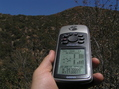 #4: Best view of the GPS receiver at the confluence point.