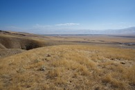 #3: View East (over the California Aqueduct and Interstate 5, towards the southern end of California's Central Valley)
