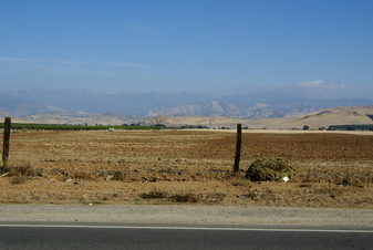 #1: East view of the Sierra Nevada