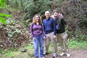 #9: Lorrie Conklin, Greg Conklin, and Joseph Kerski at the confluence point.