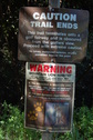 #7: warning sign