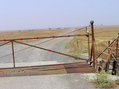 #7: The gate, 1.3 miles from the confluence point