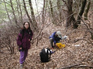 #1: Jules meets Beth and she inspects the geocache