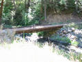 #5: Bridge over Iron Canyon Creek below the confluence - made from railroad car