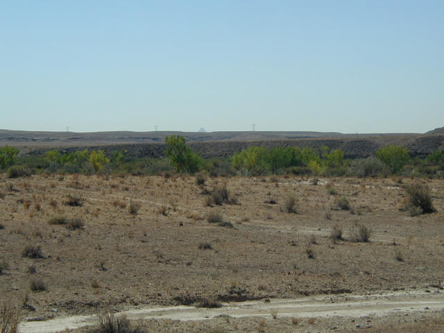 View Southeast to Ship Rock, New Mexico