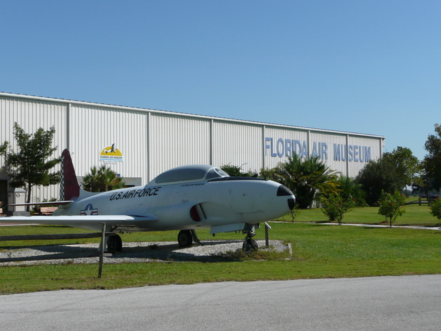 Florida Air Museum nearby is worth a visit