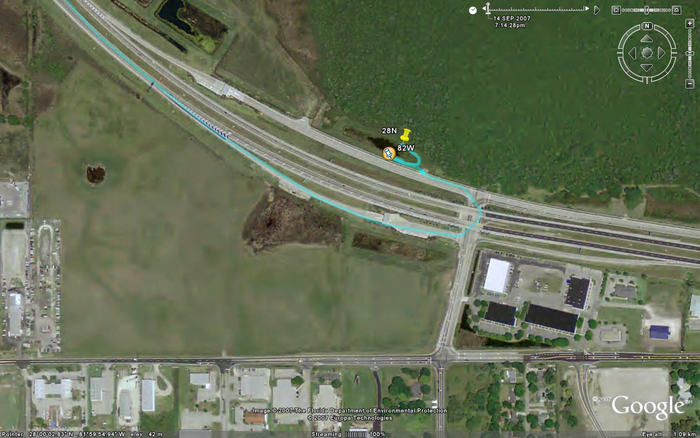 Track in Google Earth