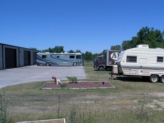 The point is located inside the American-Pro RV center