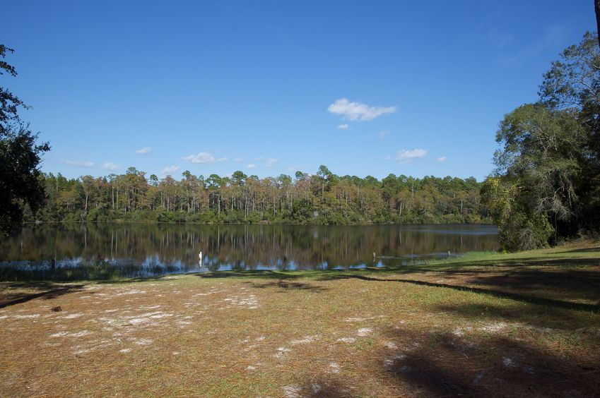 Wright Lake - just a short distance away from the campground