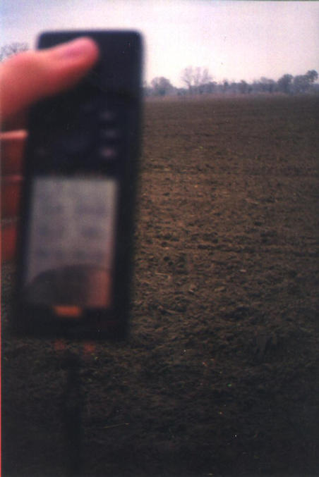 A blurry GPS and the confluence site