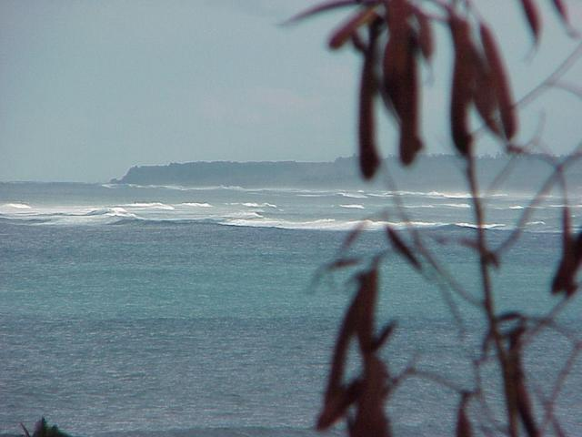 Looking east toward the confluence off the north shore of Maui.