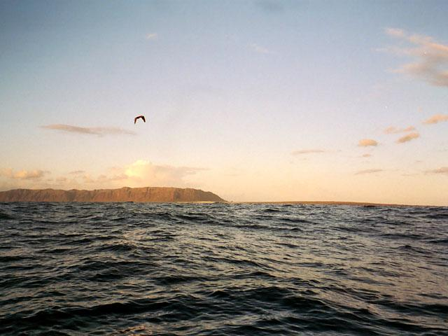 West (looking at Niihau)
