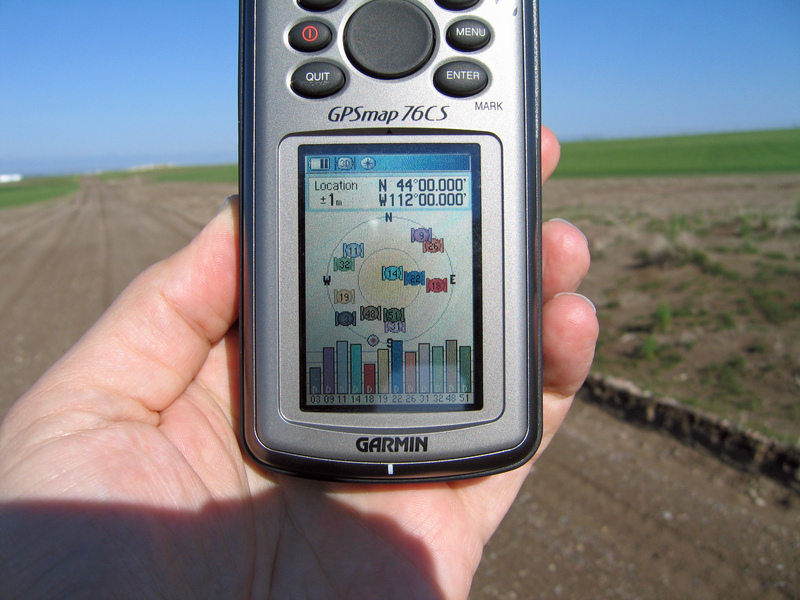 GPS position