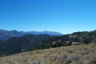 #1: View southwest into central Idaho from the hill