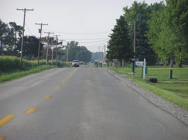View North (along Minnich Road)