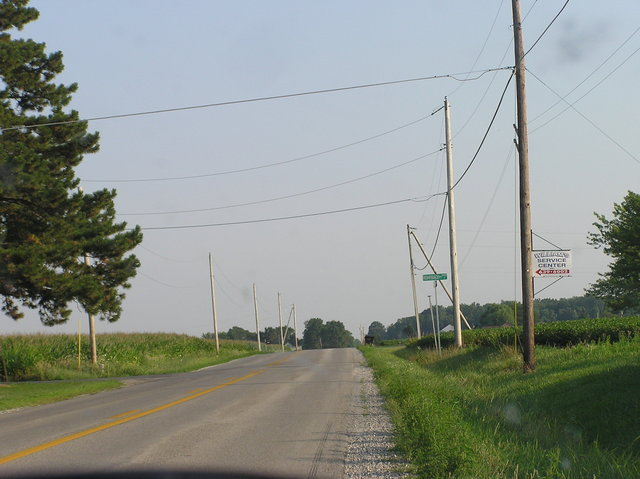 View South (along Minnich Road)