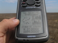#8: GPS reading at the confluence point.