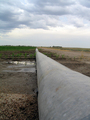 #8: Irrigation pipe for the corn.