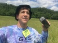 #3: Joseph Kerski at the confluence point with GIS shirt.