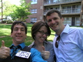 #2: Joseph Kerski, Joy Adams, and Greg Osburn celebrate confluence centeredness.