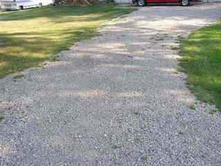 #1: The confluence point lies 35 feet down this driveway