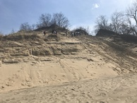 #5: The sand dune facing the confluence point.