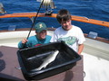 #4: The Boys, with their first catch of the day