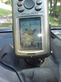 #5: GPS screen where I parked