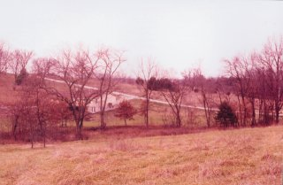 #1: Looking northeast towards the property owner's house