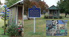 #10: Collage of delta culture in down-town Rolling Fork.