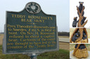 "#9: Historic marker at the Onward Store still tells ""Teddy Bear"" story, while newly carved bears can be found in the nearby town of Rolling Fork, MS."