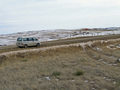 #8: Parking along the road south of the confluence