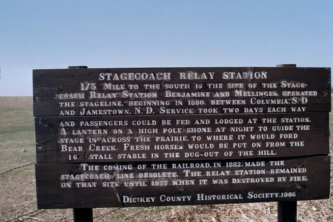 stagecoach station 13miles to the nw of confluence