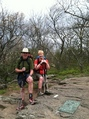 #7: Long Distance Confluence Hunters begin walk from Springer Mountain GA towards 44N 72W on April 11, 2012