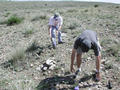 #4: Collecting rocks for the cairn