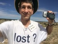 #8: Joseph Kerski at the confluence site.