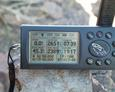 #4: GPS on top of rock cairn