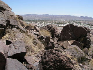 #1: Only the site's steep contours have prevented 36N 115W from already being overrun by Henderson NV housing.