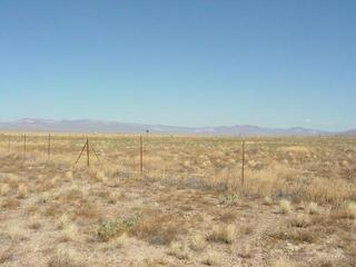 #1: View Looking North, Other Side of Fence is Ground Zero for Underground Nuclear Test
