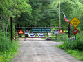 #6: The gate at the Pennsylvania border.