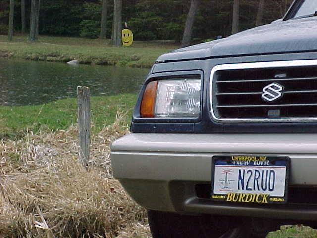 N2RUD's Suzuki Sidekick & Smiley Face