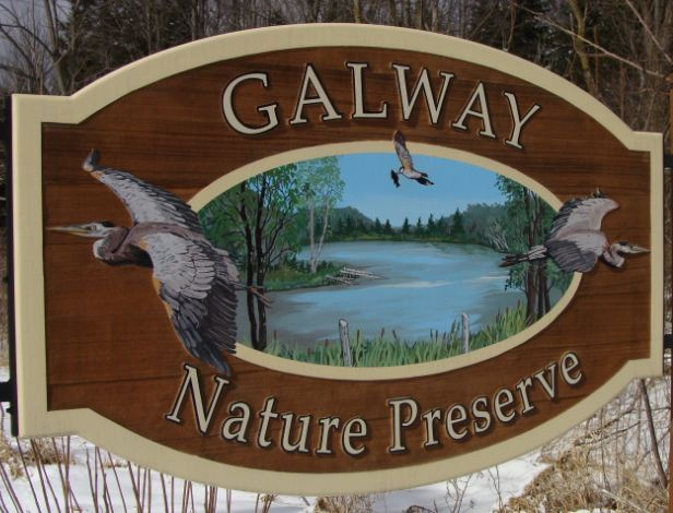 The Galway Nature Preserve is located at 2519 Crane Rd. and is open to the public from dawn to dusk.