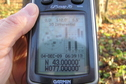 #3: GPS receiver at the confluence of 43 North 77 West.
