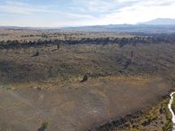 #10: View South (from Oregon, towards Nevada on the left, and California on the right) from 120 m above the point