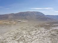 #9: View East (across US-395) from 120 m above the point