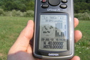 #2: Victory Secured:  GPS reading at the confluence of 40 North 78 West.