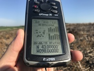 #2: GPS receiver at confluence point.