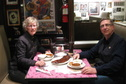 #9: Confluence hunters with Memphis style ribs at Marlowe's.  Marlowe's ribs were featured on the Food Network