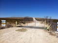 #7: Locked gate on US 285.